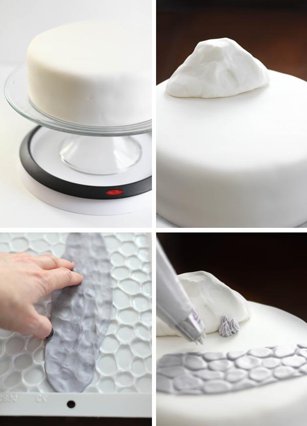 Frankenweenie cake tutorial SprinkleBakes Blog