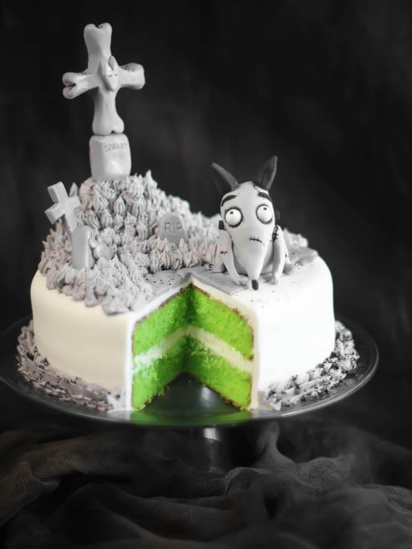 Sparky Graveyard cake by SprinkleBakes Frankenweenie-1