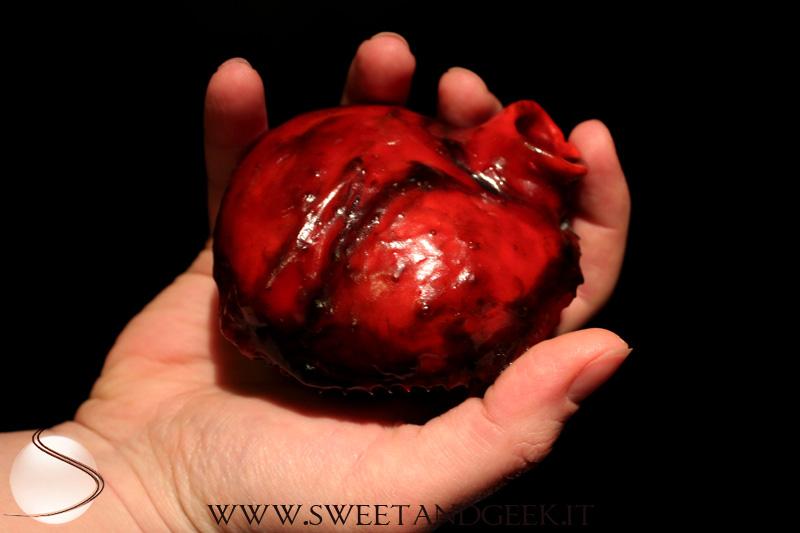 Human Heart Cupcake00
