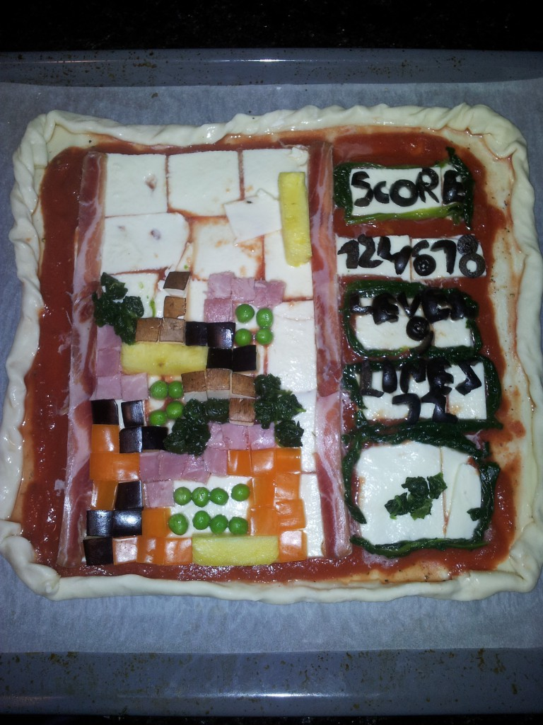 tetris pizza cruda