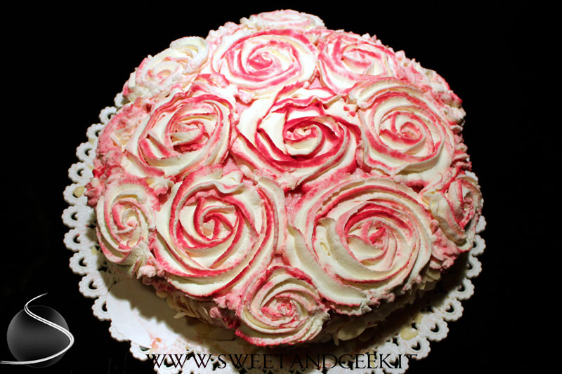 Sweet&geek_torta_rose_rosa