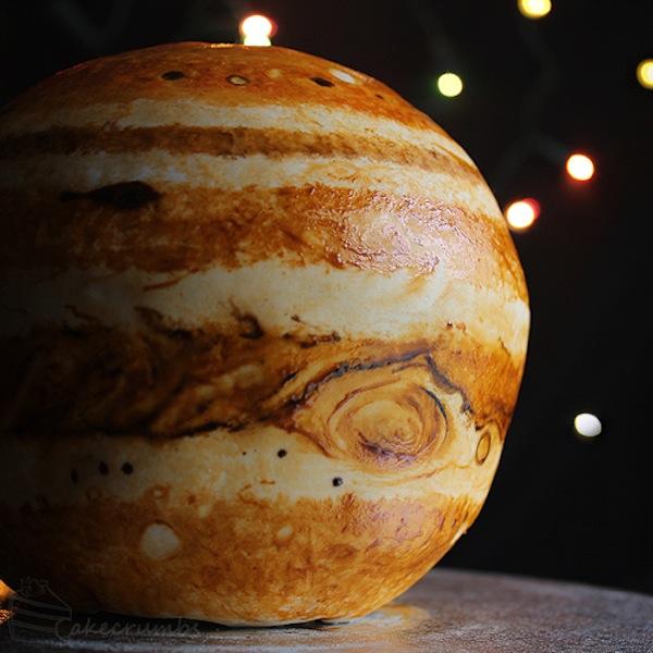 Torta Giove - struttura interna di un pianeta