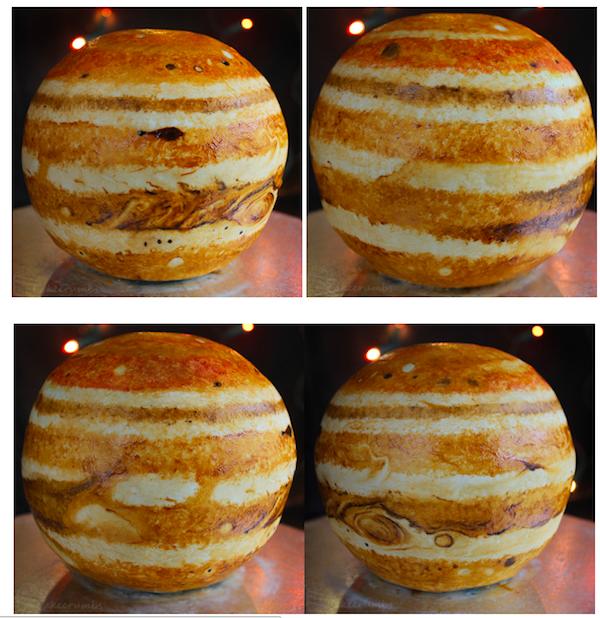 Torta giove - viste varie
