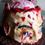 torta Testa Zombie
