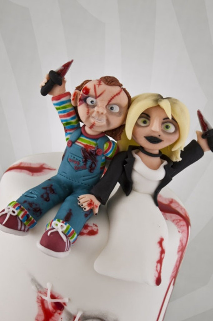 Bride-of-Chucky-wedding cake 00