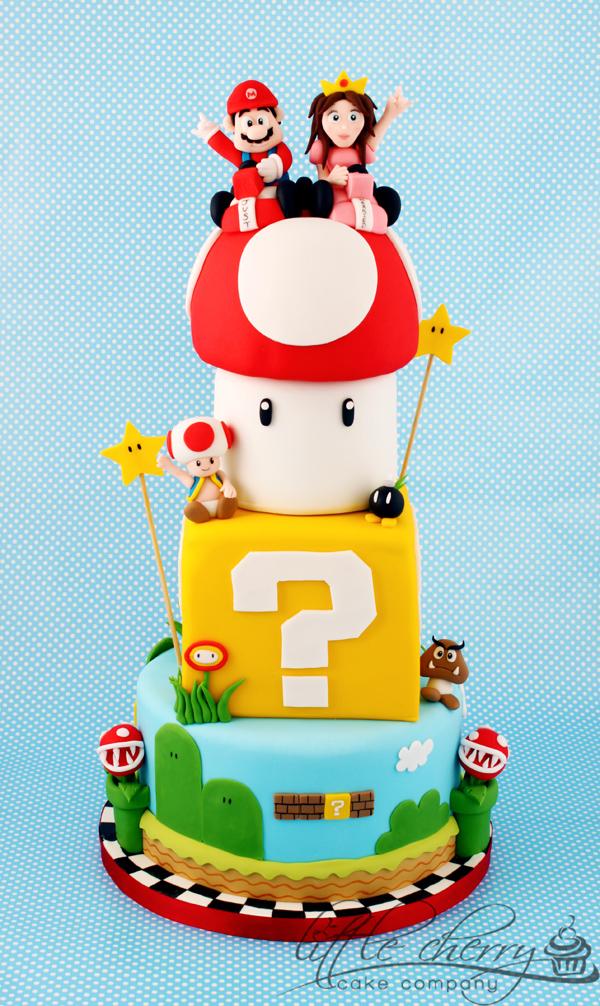 Torta nuziale Mario-Kart
