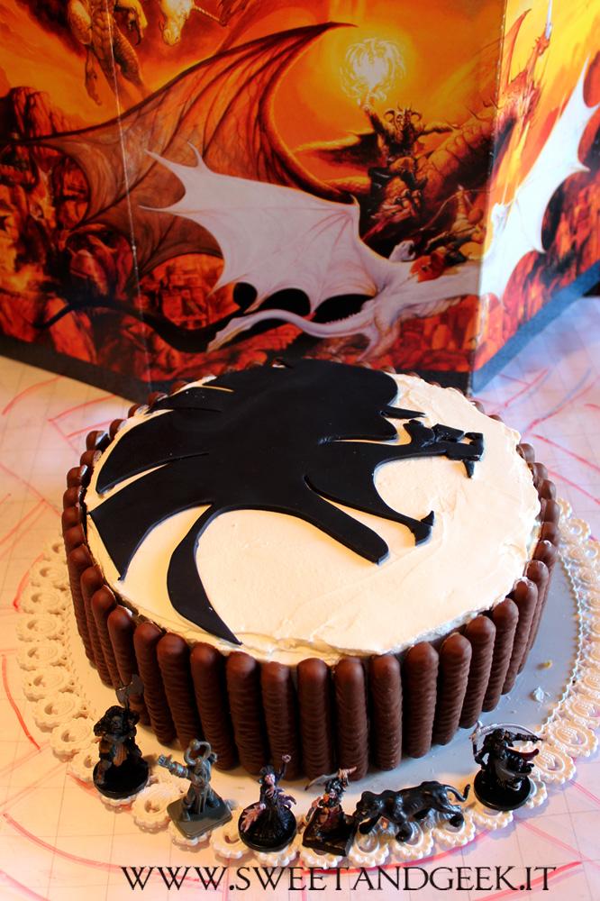 Black Lion Cake