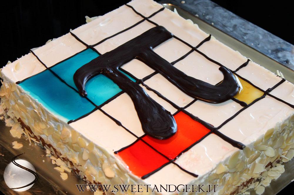 Pi-Mondrian-cheesecake