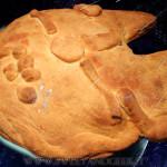 Millennium Falcon Pie light - kamut zucchine e formaggio