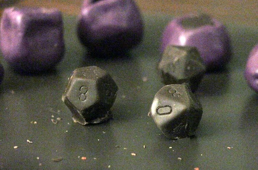 tutorial dadi cioccolato 2