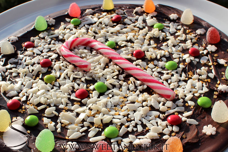 holiday-chocolate pizza