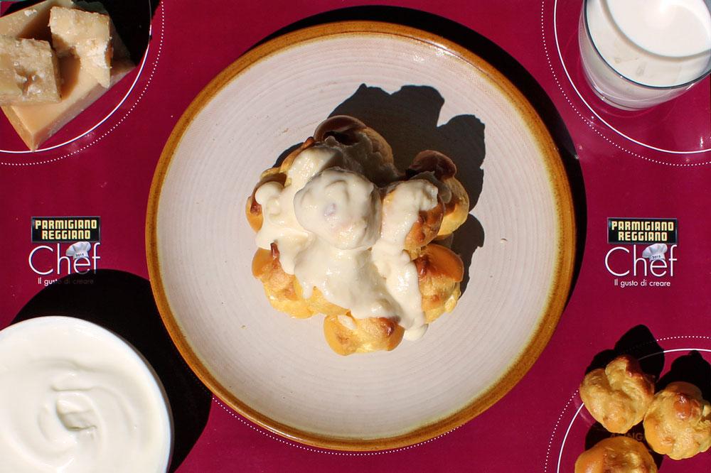 Profiterole-cardamomo-parmigiano-ingredienti