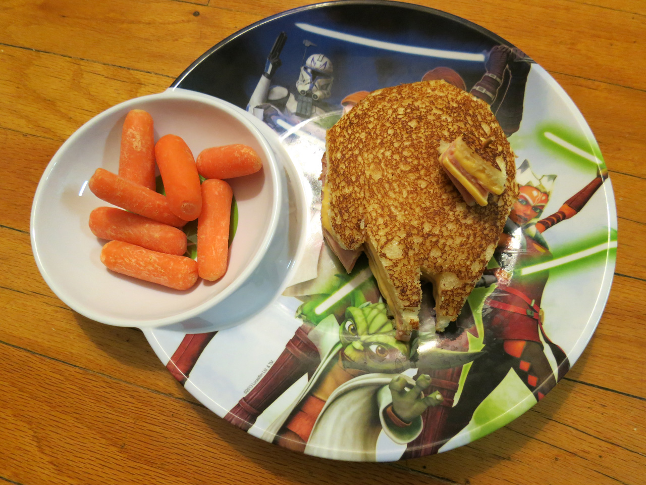 snack star wars sandwich