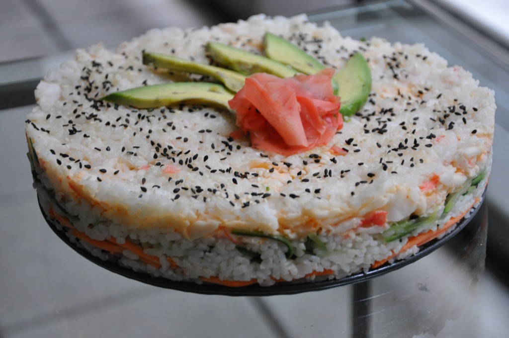 sushicake california roll