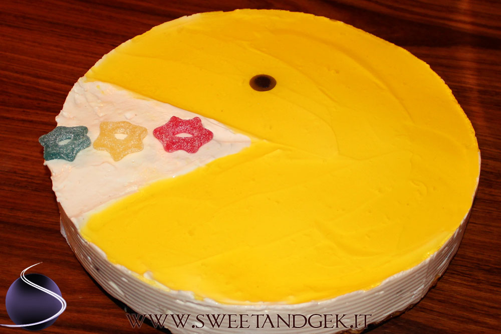 pacman-cheesecake
